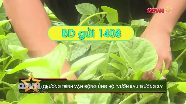 Hãy nhắn tin ủng hộ rau xanh, nước sạch cho Trường Sa