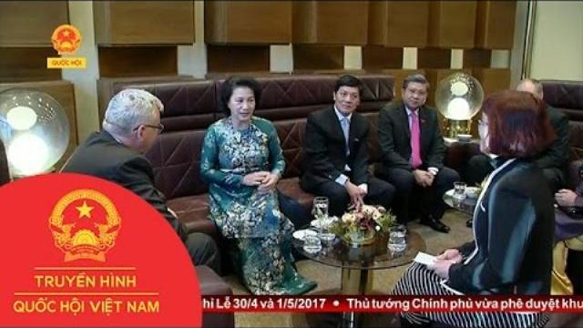 Thời sự - Chủ tịch Quốc hội thăm chính thức Cộng hòa Séc