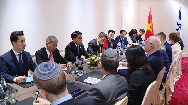 Tin tức 24h: Hà Nội - Israel thúc đẩy hợp tác nhiều mặt