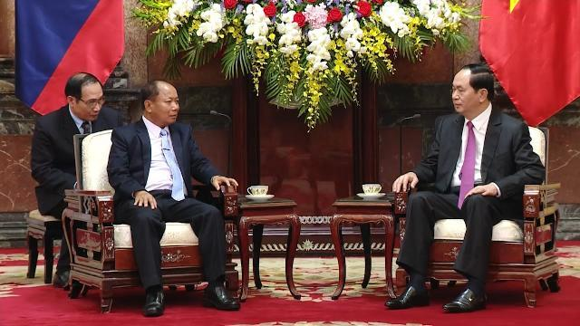 Tin Tức 24h: Chủ tịch nước tiếp Bộ trưởng Bộ An ninh CHDCND Lào