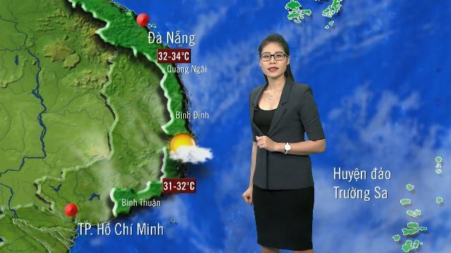 Tin Dự Báo Thời Tiết Hôm Nay (19h55 - 12/5/2017) | Bản Tin Thời Tiết Hôm Nay