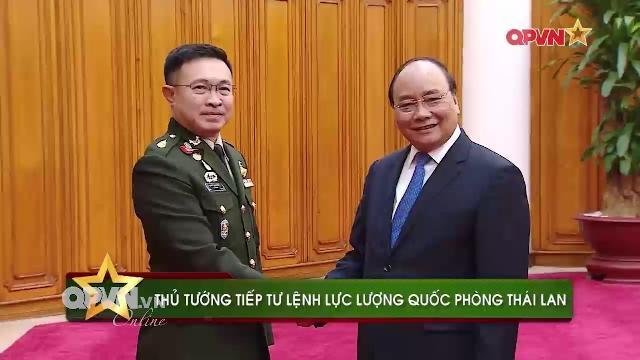Thủ tướng Nguyễn Xuân Phúc tiếp Tư lệnh Quốc phòng Thái Lan