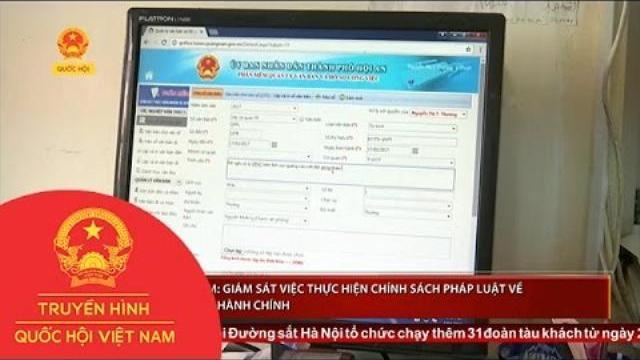 Thời sự - Quảng Nam: Giám sát việc thực hiện chính sách pháp luật về cải cách hành chính