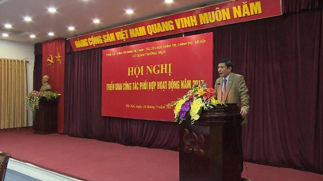Tổng cục Chính trị QĐND Việt Nam triển khai công tác phối hợp hoạt động năm 2017