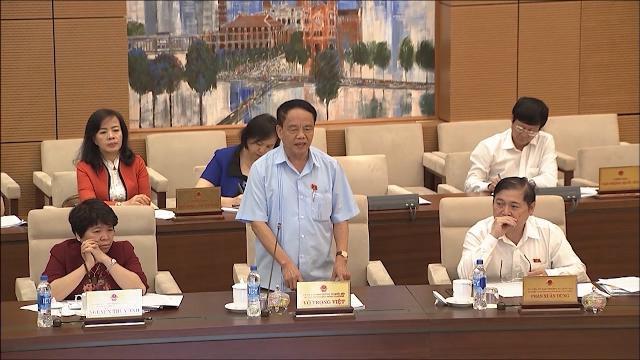 UBTVQH cho ý kiến về báo cáo giám sát giải quyết kiến nghị của cử tri
