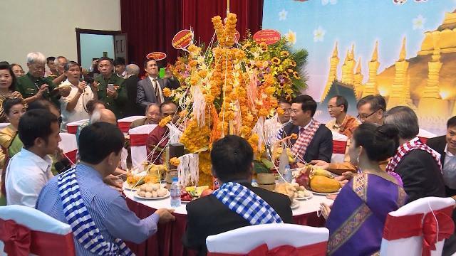 Đại sứ quán Lào tổ chức Tết cổ truyền Bun Pi May tại Hà Nội