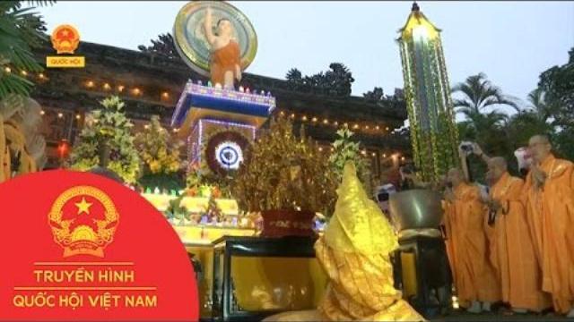 Thời sự - Thừa Thiên - Huế: Trang nghiêm lễ Mộc Dục và rước Phật