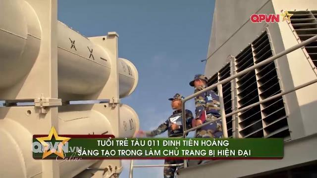 Làm chủ hệ thống tên lửa hiện đại trên tàu 011 Đinh Tiên Hoàng của Hải quân Việt Nam