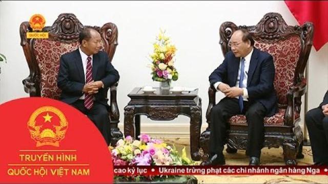 Thời sự - Thủ tướng tiếp Bộ trưởng An ninh Lào
