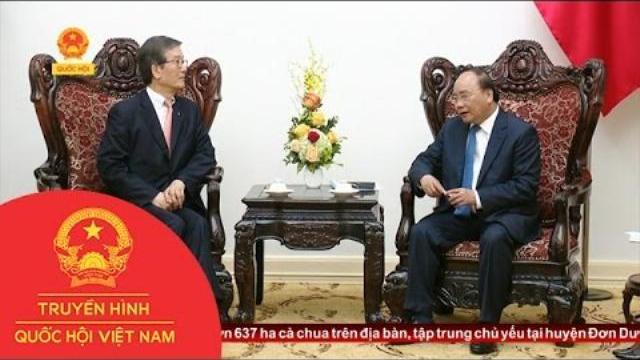 Thời sự - Thủ Tướng Tiếp Tổng Giám Đốc Ngân Hàng Phát Triển Hàn Quốc