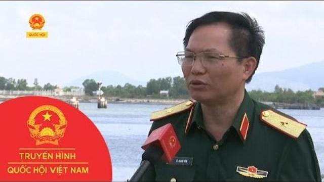 Kết nối trực tiếp phóng viên Mai Anh tại Vũng Tàu về việc tìm kiếm trục vớt tàu Hải Thành 26
