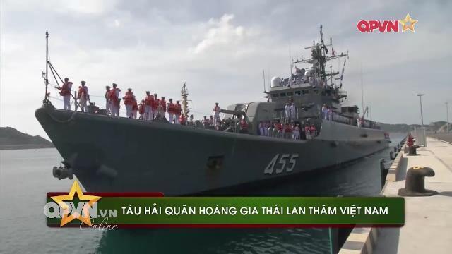 Thái Lan đưa biên đội tàu khủng thăm Cam Ranh Việt Nam