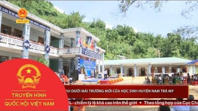 Thời sự - Niềm vui dưới mái trường mới của học sinh huyện Nam Trà My