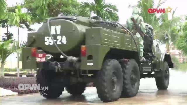Bộ đội phòng hóa vững vàng trên mảnh đất miền Trung nắng gió