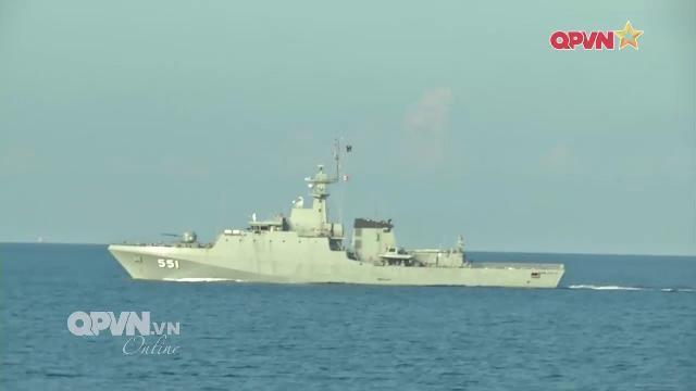 Thời sự Quốc phòng Việt Nam ngày 22/4/2017: Hải quân Việt Nam Thái Lan tuần tra chung trên biển