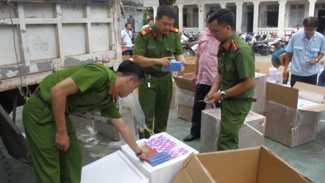 Tin tức 24h: Phát hiện vụ buôn lậu tân dược trị giá 5 tỷ đồng tại TP Hồ Chí Minh