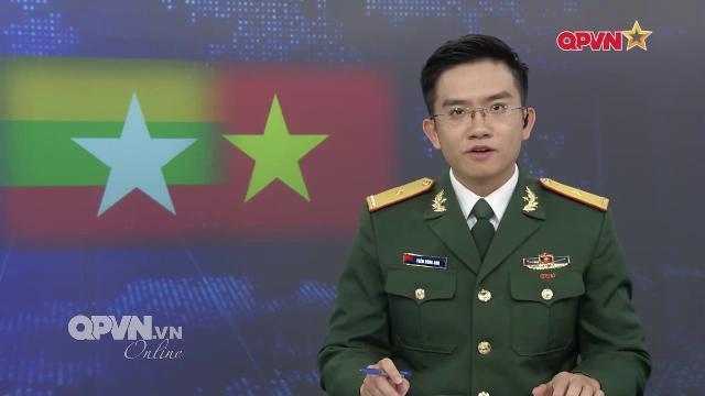 Việt Nam Myanmar tăng cường hợp tác quốc phòng