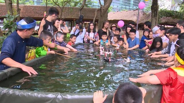 Nhiều hoạt động vui hè cho thiếu nhi tại Bảo tàng Dân tộc học Việt Nam