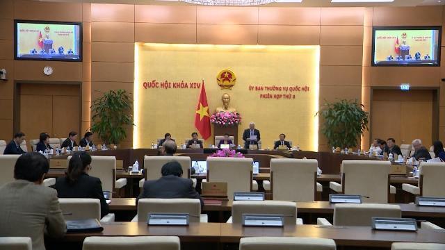 Ủy ban Thường vụ Quốc hội thông qua Nghị quyết Quy định trình bày văn bản quy phạm pháp luật