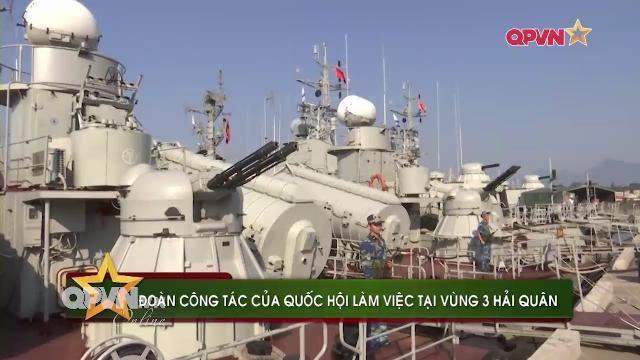 Đoàn công tác Quốc hội thăm Vùng 5 Hải quân
