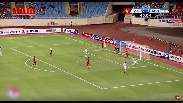 Tin Thể Thao 24h Hôm Nay (19h45 - 15/5): U20 Argentina Sút U22 VN Trở Lại Mặt Đất Với 5 bàn Trắng