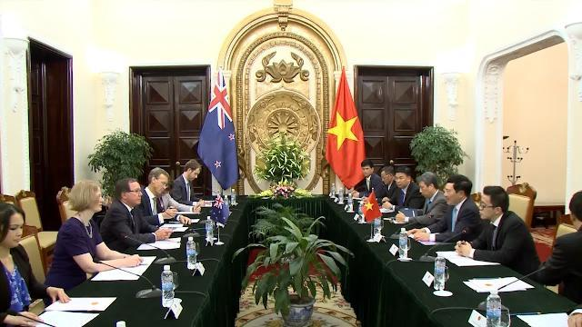 Tin Tức 24h Mới Nhất: Thúc đẩy quan hệ Việt Nam - New Zealand