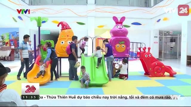 Bệnh viện Nhi đồng thành phố: cái nhìn mới về bệnh viện | VTV24