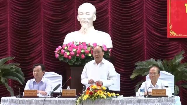 Thủ tướng Nguyễn Xuân Phúc làm việc với tỉnh Bình Thuận