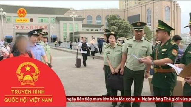 Thời sự -Quảng Ninh: Đồn Biên Phòng Cửa Khẩu Quốc Tê Tiếp Nhận Nạn Nhân Bị Lừa Bán Sang Trung Quốc