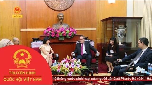 Chủ tịch UBTW MTTQ Việt Nam tiếp Đại sứ đặc mệnh toàn quyền Canada tại Việt Nam | Thời sự | THQHVN