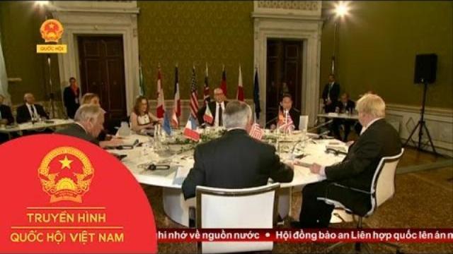 Thời sự - Hội Nghị Ngoại Trưởng G7 Tại Italia