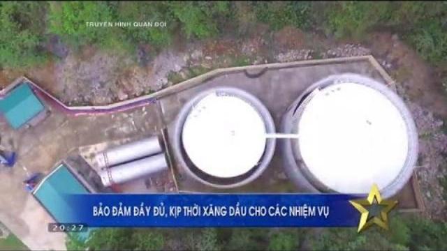Kho xăng dầu đảo đảm SSCĐ cho Quân đội trong mọi tình huống