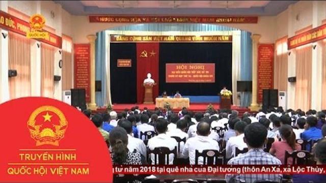 Thời sự - Đoàn ĐBQH tỉnh Phú Thọ tiếp xúc cử tri huyện Thanh Sơn