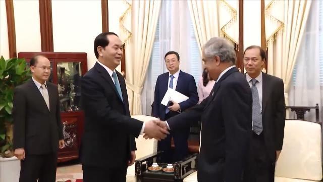 Chủ tịch nước Trần Đại Quang tiếp Điều phối viên Thường trú Liên hợp quốc
