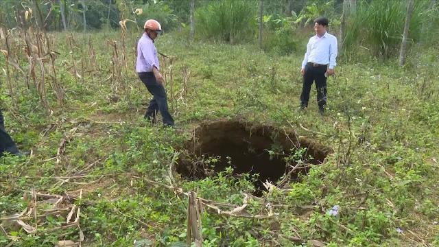 Bộ Tài nguyên và Môi trường vào cuộc đánh giá tình trạng sụt lún ở Bắc Cạn
