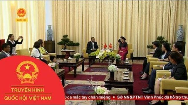 Thời sự - Chủ tịch Quốc hội tiếp Chủ tịch Quốc hội Đông Timor