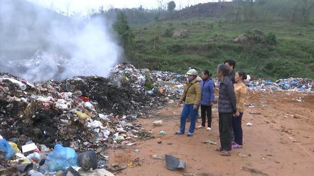 Lào Cai: Bãi rác Xuân Đâu ô nhiễm làm người dân khốn khổ