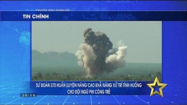 Truyền hình Quân đội ngày 23/4/2017: SU-30MK2 Không quân Việt Nam diễn tập ném bom
