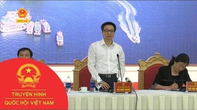 Thời sự - Phó Thủ tướng Vũ Đức Đam làm việc với lãnh đạo tỉnh Quảng Ninh