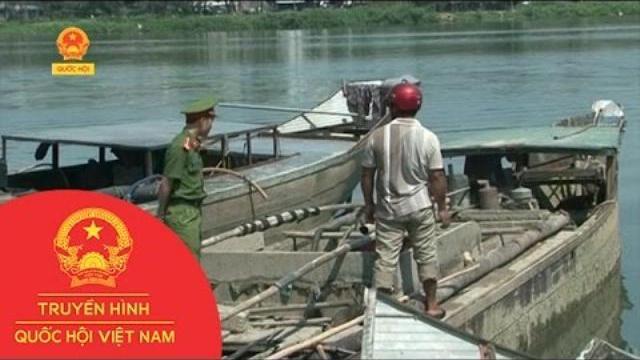 Thừa Thiên - Huế: Xử phạt trên 60 trường hợp vi phạm khai thác cát, sỏi trên sông