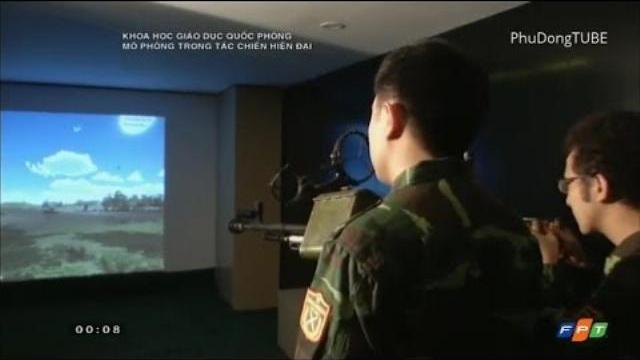 Cận cảnh công nghệ luyện bắn như chơi game của Quân đội Việt Nam