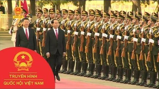 Thời sự - Chủ tịch nước bắt đầu thăm cấp nhà nước tới Trung Quốc