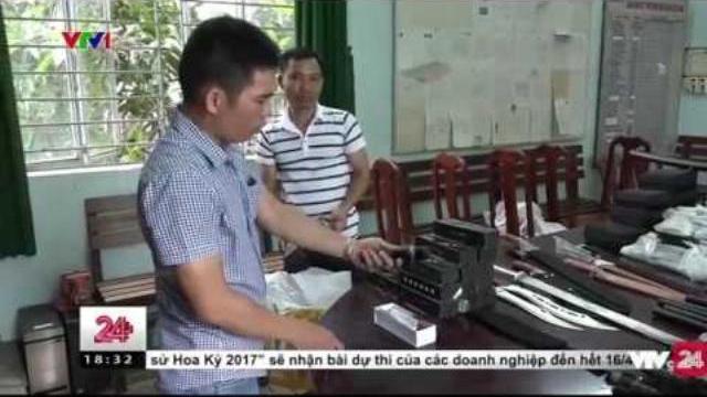 Đường dây buôn bán vũ khí xuyên Bắc Nam bị triệt phá | VTV24
