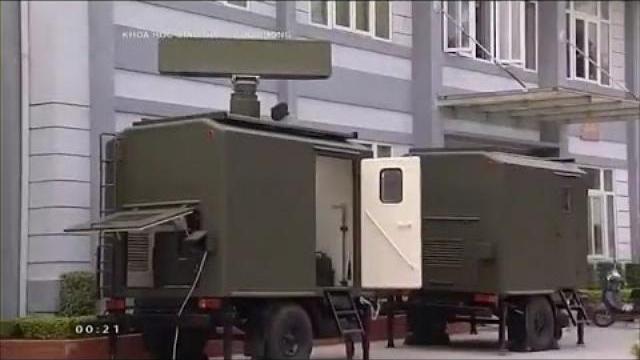 Bất ngờ với những sản phẩm Quốc phòng công nghệ cao do Viện kỹ thuật PKKQ chế tạo