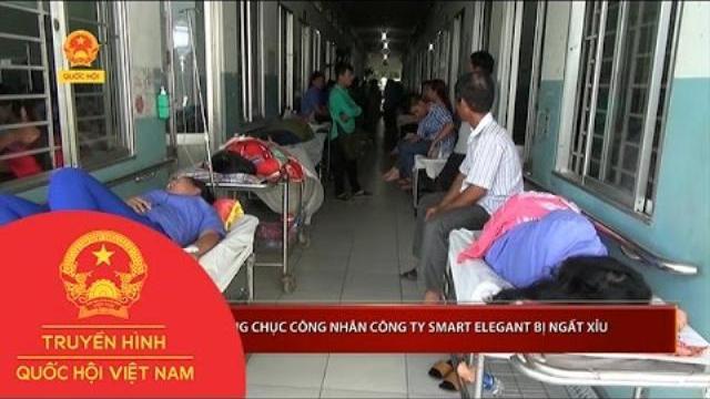 TPHCM: Hàng chục công nhân Công ty Smart Elegant bị ngất xỉu | Thời Sự | THQHVN