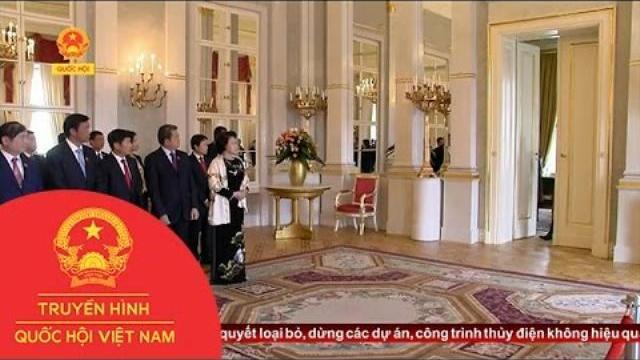 Thời sự - Chủ tịch Quốc hội Nguyễn Thị Kim Ngân hội kiến Tổng thống Hunggary