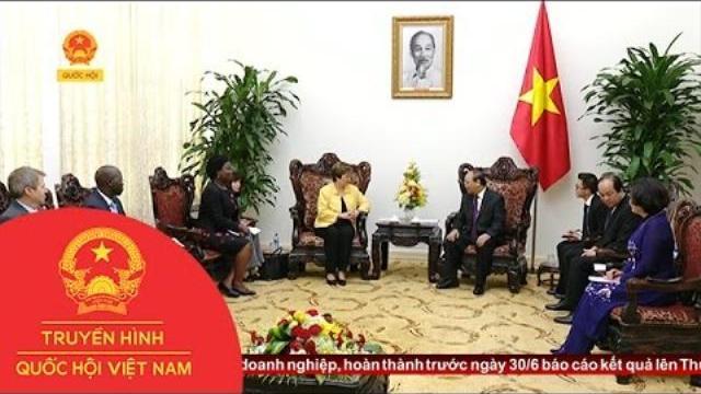 Thời sự - Thủ tướng Nguyễn Xuân Phúc tiếp Tổng Giám Đốc điều hành Ngân hàng Thế giới