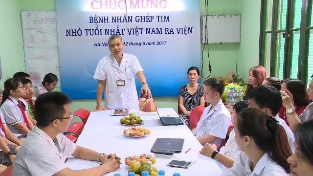 Bệnh nhi tim nhỏ tuổi nhất Việt Nam được ghép tim thành công