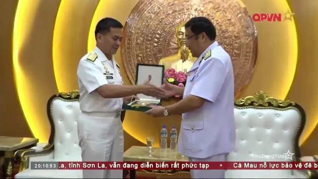 Hải quân Việt Nam Philippines hợp tác bảo vệ ngư dân