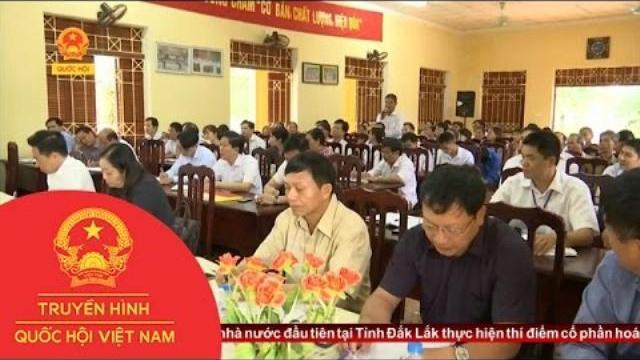 Cử tri tỉnh Tuyên Quang kiến nghị cần có những biện pháp cụ thể hỗ trợ người nuôi lợn